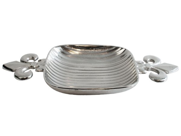 Colmore Tablett Lilie 44x23cm Silber